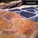 Crazy Paving - Rich Autumn